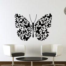 Pillangó pillangókból, falmatrica