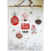 Karácsonyi díszek, karácsonyi ajándéktáska, M méret a Dekormatricák webáruháztól
