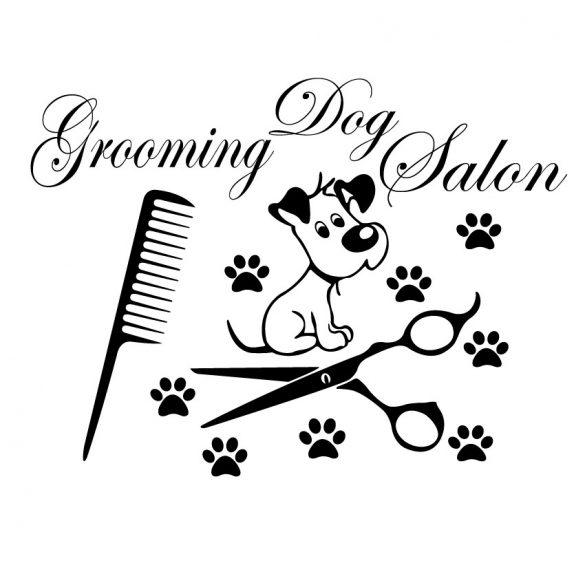 Grooming dog salon, falmatrica