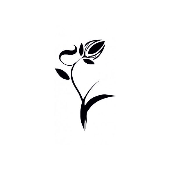 Nonfiguratív tulipán