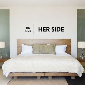 His side - Her side