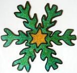 Karácsony, csillámos, zselés ablakmatrica - Dekormatricák dekoráció webáruház