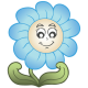 Nonfiguratív virágok, virágos falmatrica a Dekormatricák webáruház széles kínálatából