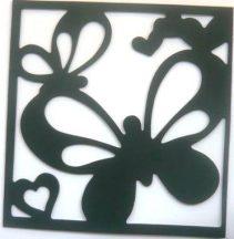 Pillangók. polifoam öntapadós falikép
