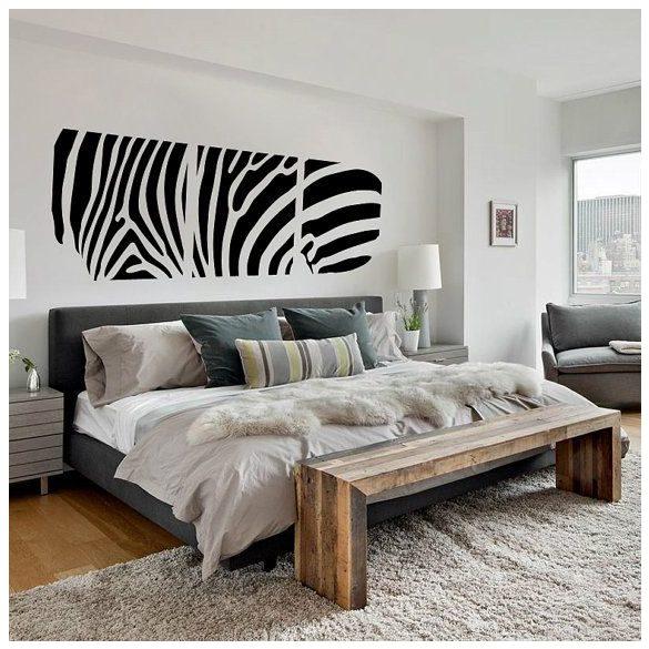 Zebra, 3 részes falimatrica