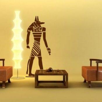 Anubisz faltetoválás a Dekormatricák dekorációs webáruház kínálatában