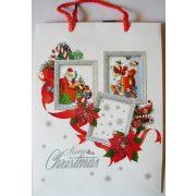 Mikulások, karácsonyi ajándéktáska, M méret a Dekormatricák webáruháztól