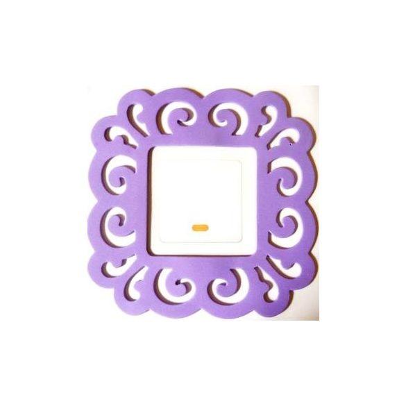 Nonfiguratív villanykapcsoló matrica