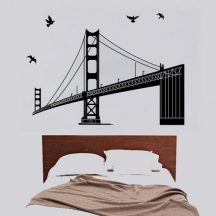Híd, falmatrica