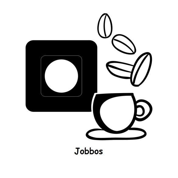 Kávézás,villanykapcsoló matrica