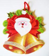 Csengő, karácsonyi ajtódekor