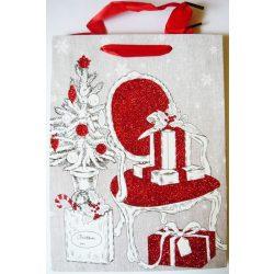 Karácsony ajándéktáska, M méret a Dekormatricák webáruháztól