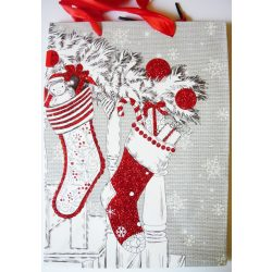 Mikuláscsizmák, karácsonyi ajándéktáska, M méret a Dekormatricák webáruháztól