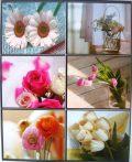Virágok, csempematrica