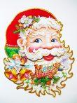 Mikulás, 3D karácsonyi ablakdekor a Dekormatricák webáruházban