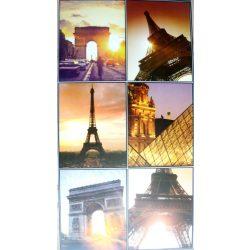 Párizs, csempematrica