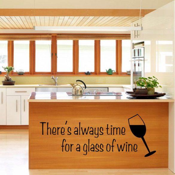 Mindig van idő egy pohár borra