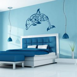 Nonfiguratív delfin