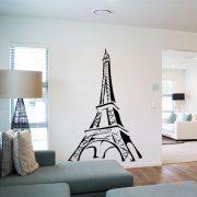 Eiffel torony falmatrica a Dekormatricák webáruház falmatricái közül