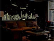 Shanghai, éjjel világító falmatrica