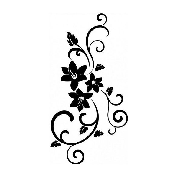 Nonfiguratív mintás virág