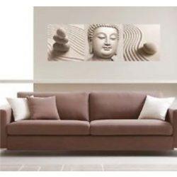Buddha, 3 részes falikép, falmatrica szett