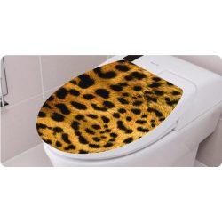 Toalett díszítő matrica