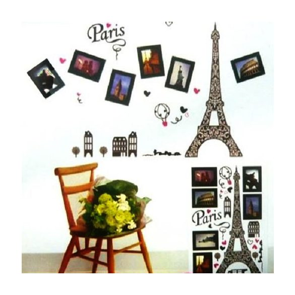 Eiffel torony fényképkeretekkel