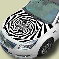 Örvény, autómatrica motorháztetőre