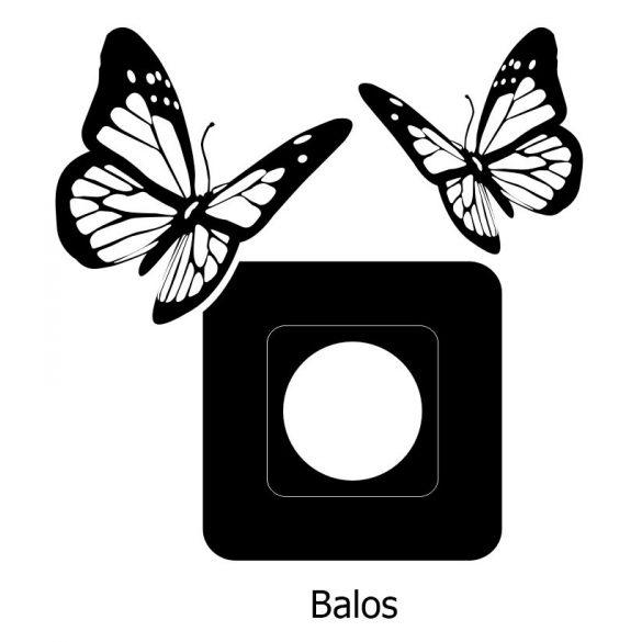 Pillangók,villanykapcsoló matrica
