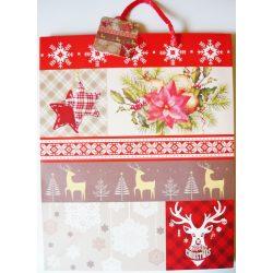 Karácsonykor, karácsonyi ajándéktáska, L méret a Dekormatricák webáruháztól