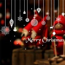 Lógó díszek, karácsonyi dekoráció üvegre