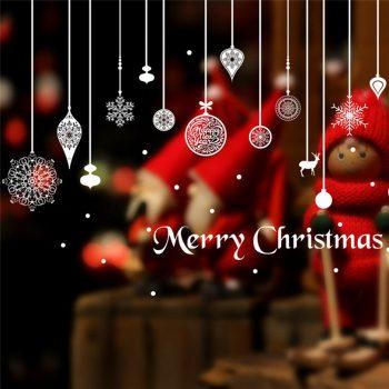 Lógó díszek, ablakmatrica Karácsonyra a Dekormatricák webáruház dekorációs termékei közül