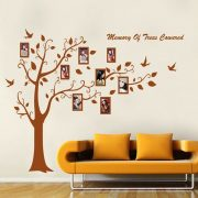 Óriás barna családfa jobbra hajló