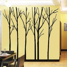 Óriás fekete fák