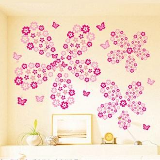 Rózsaszín virágok