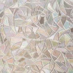 3D templom mintás sztatikus üvegfólia