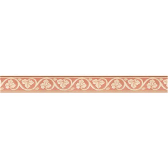 Piros leveles mintás öntapadós bordűr