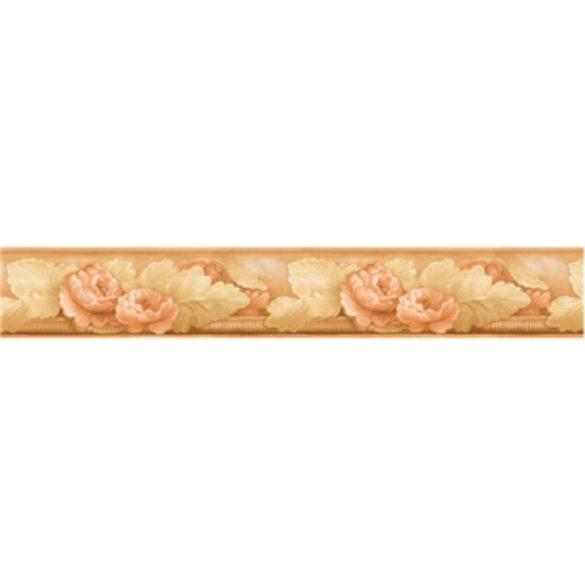 Virág motívum mintás öntapadós bordűr