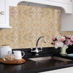 Márvány mozaik mintás öntapadós tapéta