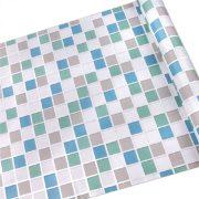 Színes mozaik mintás öntapadós tapéta