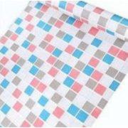 Élénk színes mozaik mintás öntapadós tapéta