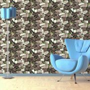 Fal kőből, öntapadós tapéta