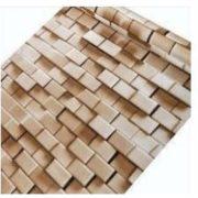 Mozaik téglamintás 3D öntapadó tapéta a Dekormatricák Webáruházban
