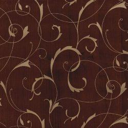 Égerfa barna arany intarzia mintás öntapadós tapéta a Dekormatricák Webáruházban