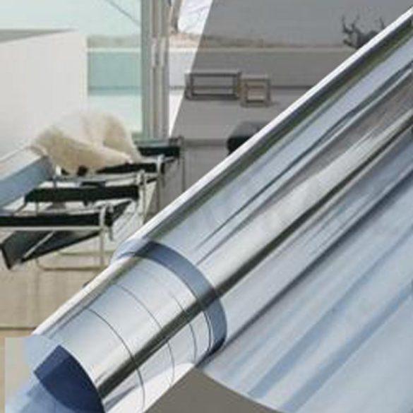 Belátás csökkentő tükrös hővédő ablakfólia