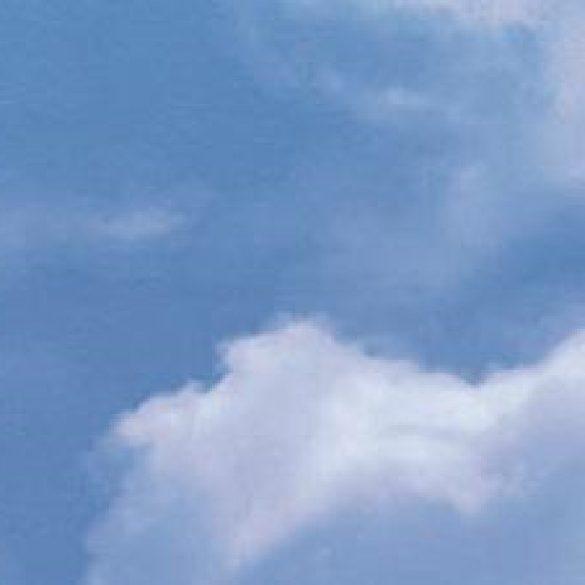 Felhős ég mintás öntapadós tapéta a Dekormatricák Webáruházban