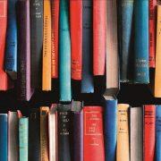 Könyv mintás öntapadós tapéta a Dekormatricák Webáruházban