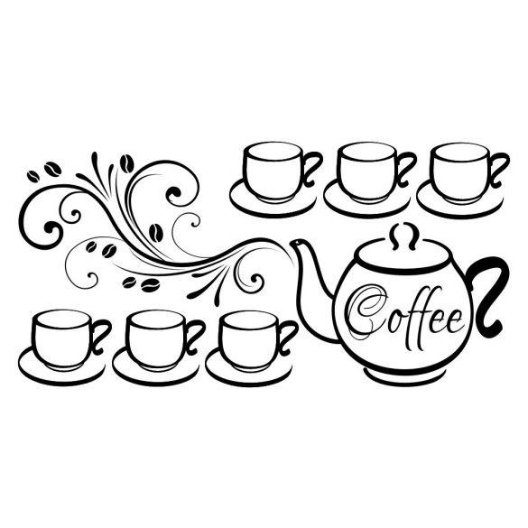 Kávé kannával