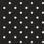 Fekete pöttyös mintás öntapadós tapéta